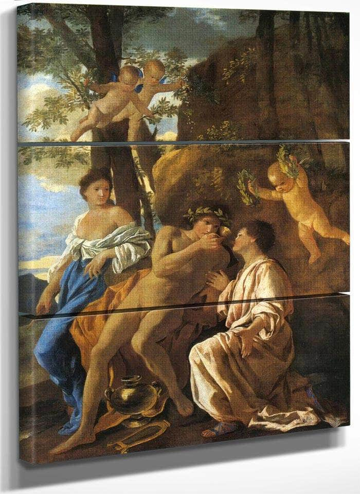 The Inspiration Of The Lyric Poet By Nicholas Poussin