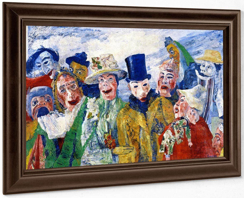 The Intrigue By James Ensor