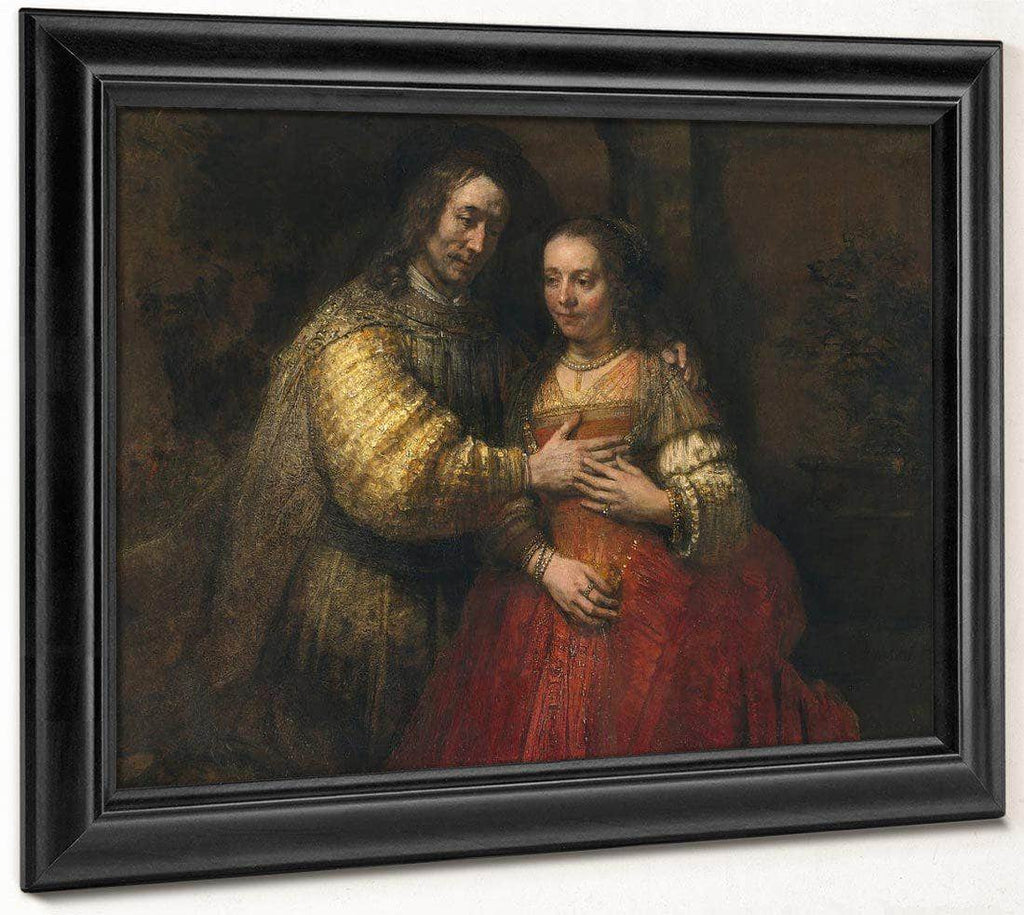 The Jewish Bride By Rembrandt