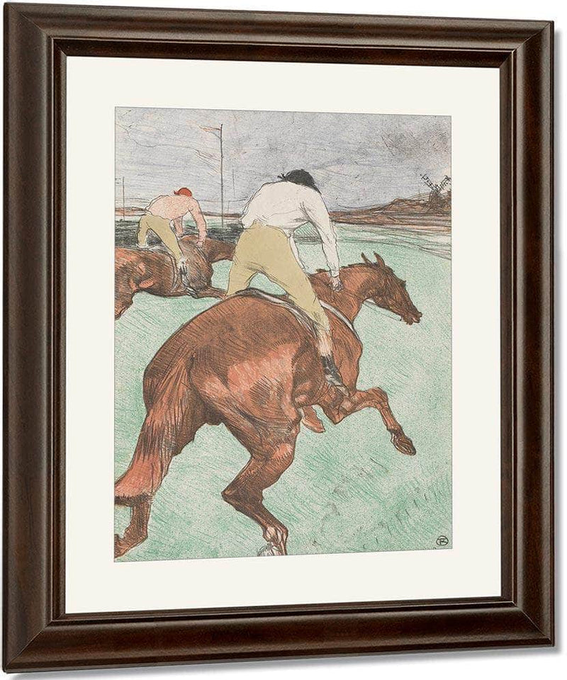 The Jockey 1899 By Henri De Toulouse Lautrec