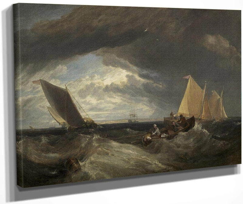 The Junction Of The Thames And The Medway By Joseph Mallord William Turner