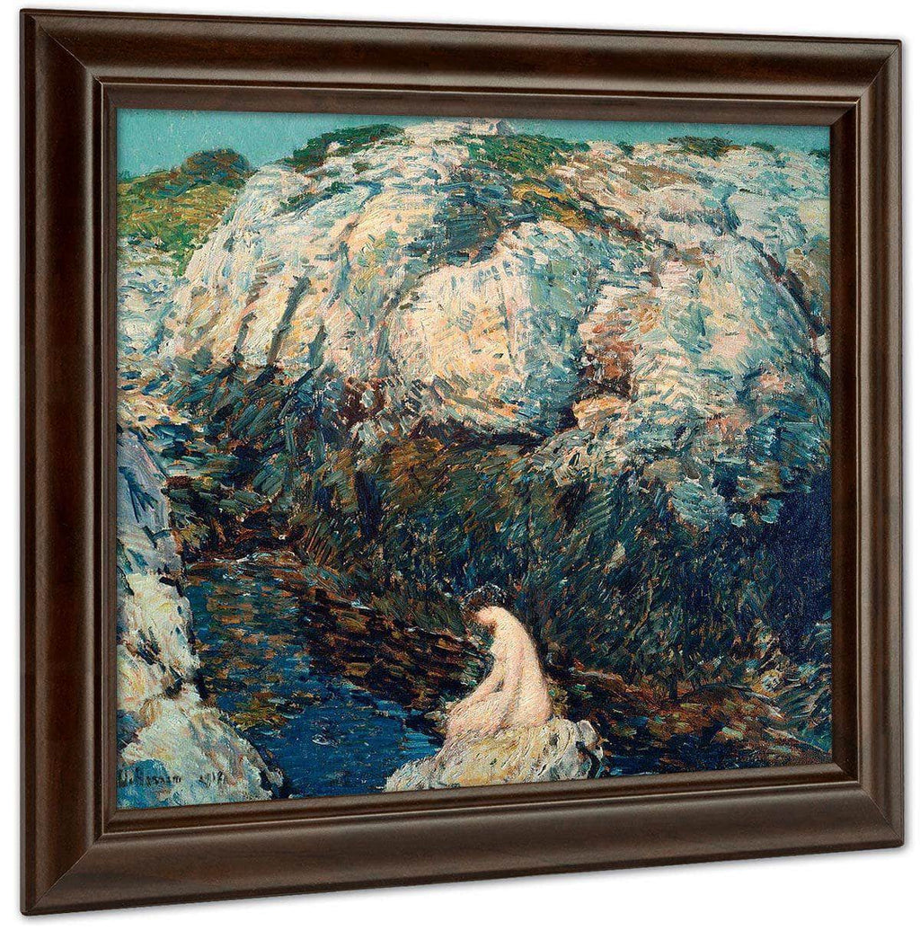 The Lady Of The Gorge By Childe Hassam
