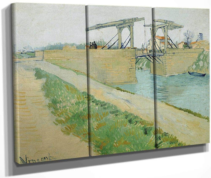 The Langlois Bridge 2 By Vincent Van Gogh