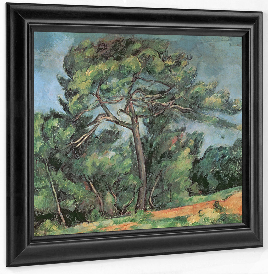 The Large Pine 1 By Paul Cezanne