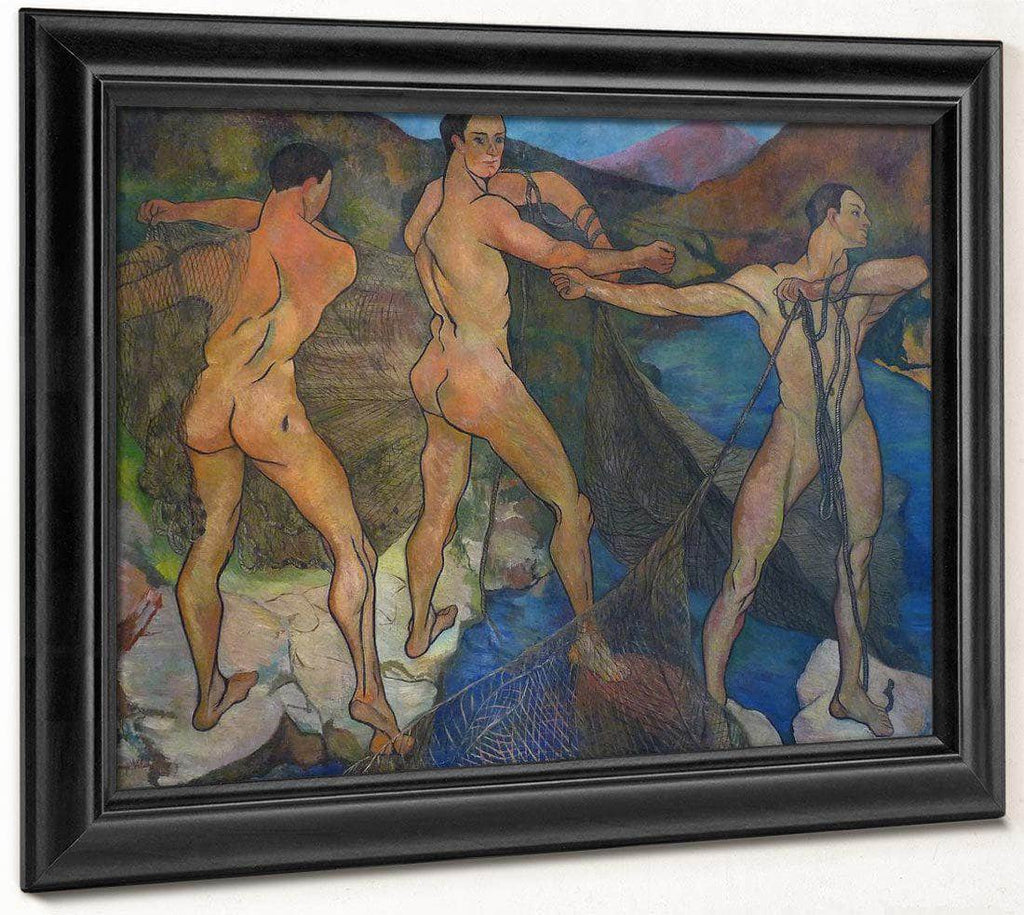 The Launch Of The Net 1914 By Suzanne Valadon