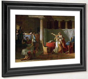 The Lictors Bring To Brutus The Bodies Of His Sons By Jacques Louis David
