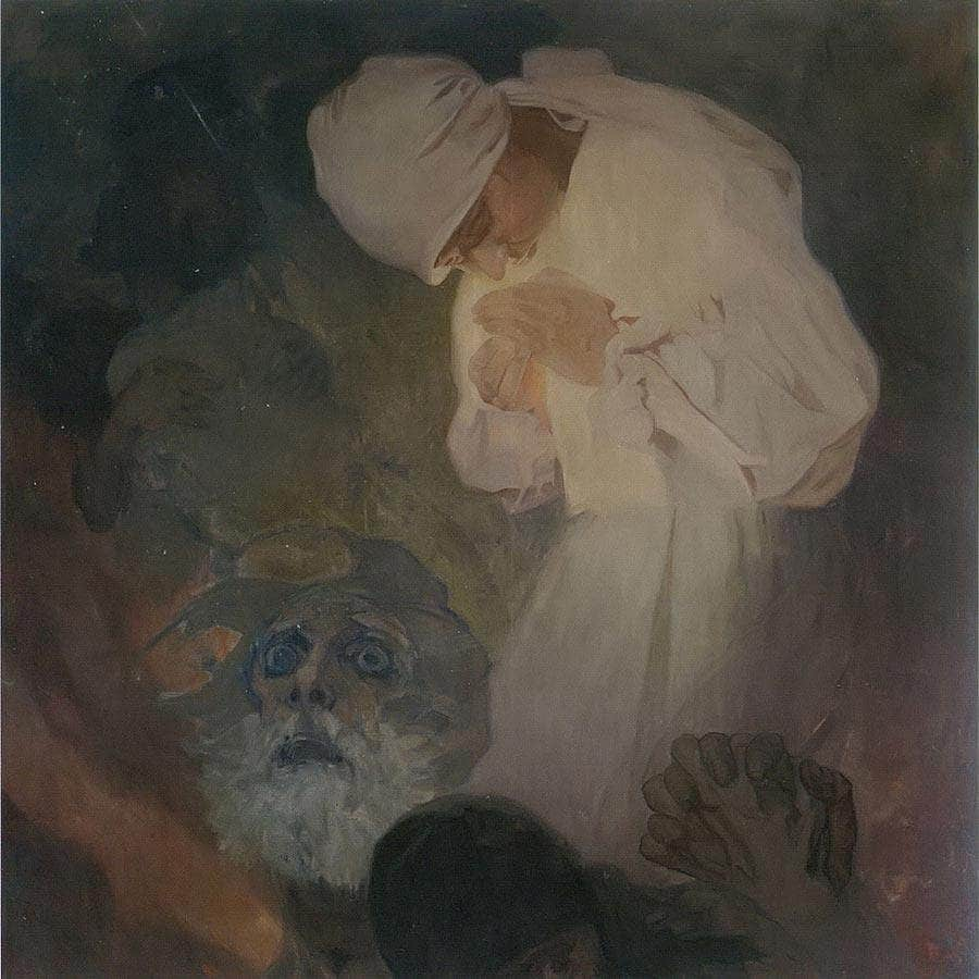 The Light Of Hope By Alphonse Mucha