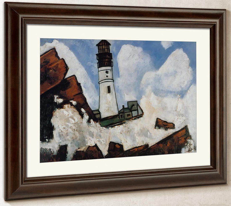 The Lighthouse By Marsden Hartley