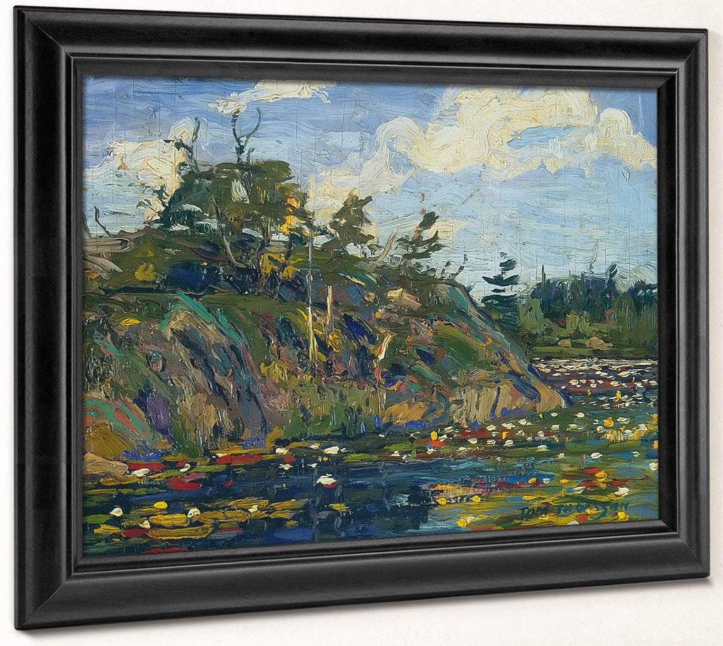 The Lily Pond By Tom Thomson
