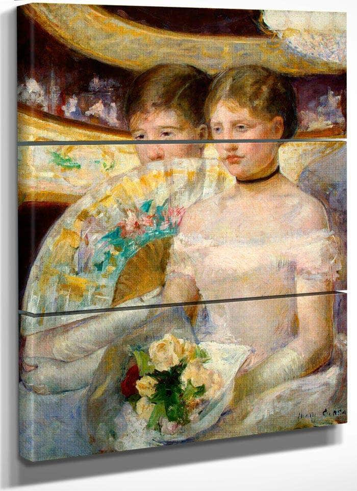 The Loge By Cassatt Mary