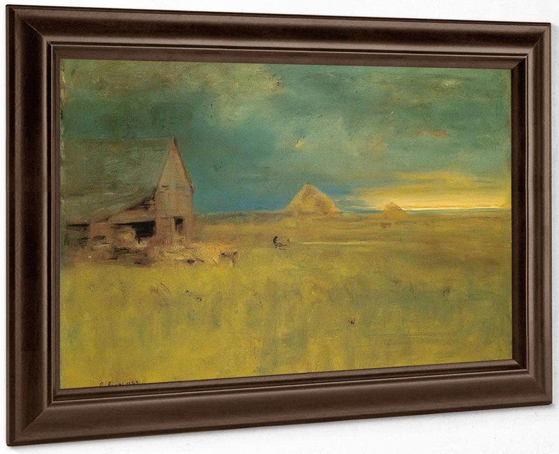 The Lone Farm Nantucket By George Inness