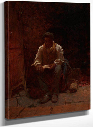 The Lord Is My Shepherd By Eastman Johnson