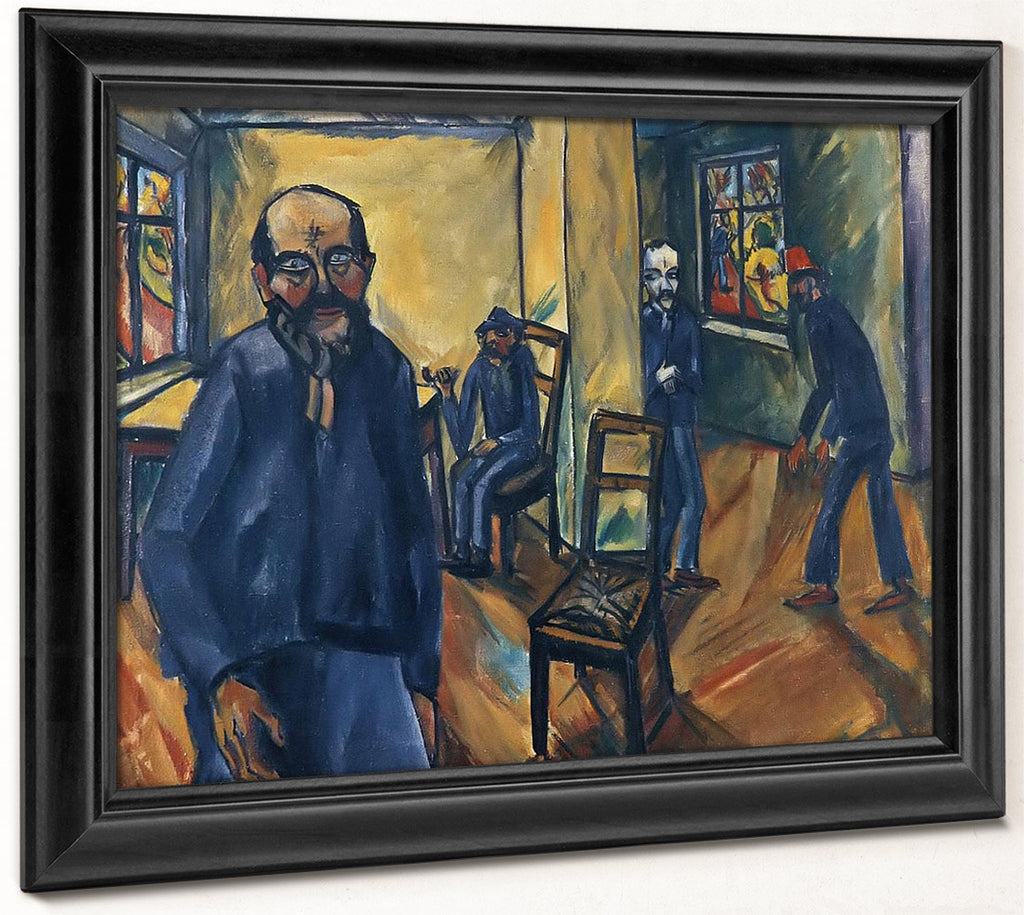 The Madhouse (The Madman) M9 Erich Heckel