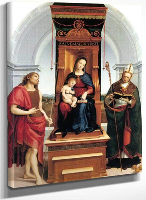 The Madonna And Child With St John The Baptist
