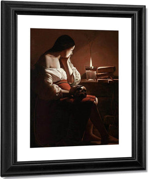 The Magdalene With The Smoking Flame 1640 By Georges De La Tour