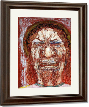 The Man Of Sorrows By James Ensor