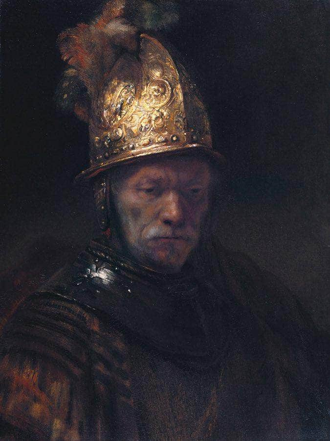 The Man With The Golden Helmet 1650 By Rembrandt