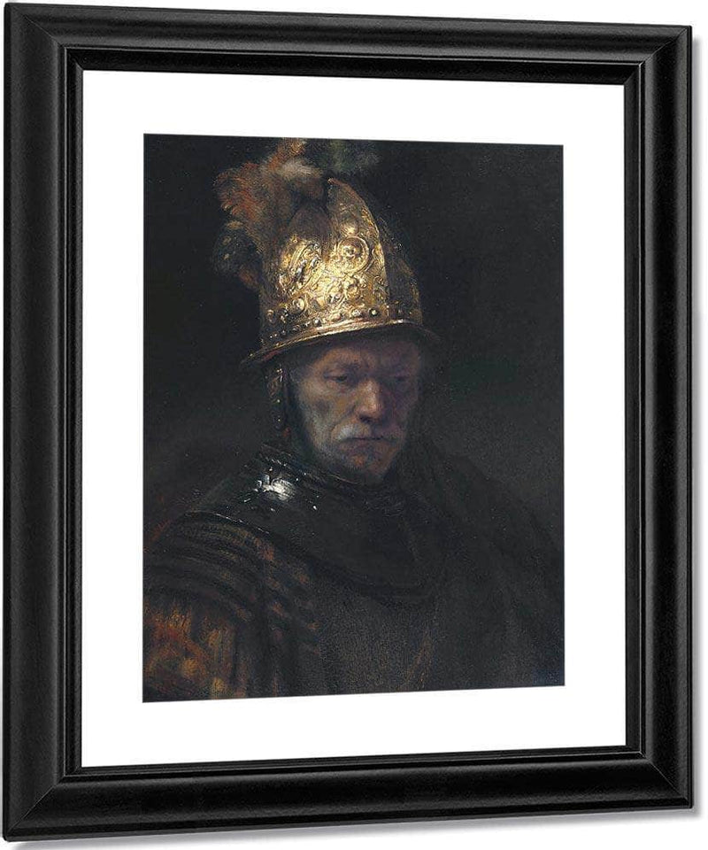 The Man With The Golden Helmet By Rembrandt