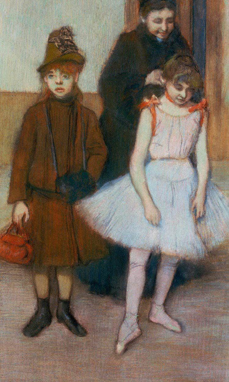 The Mante Family By Edgar Degas