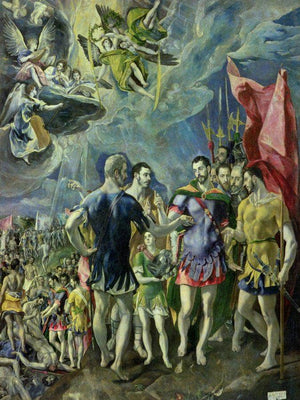 The Martyrdom Of St. Maurice 2 By El Greco