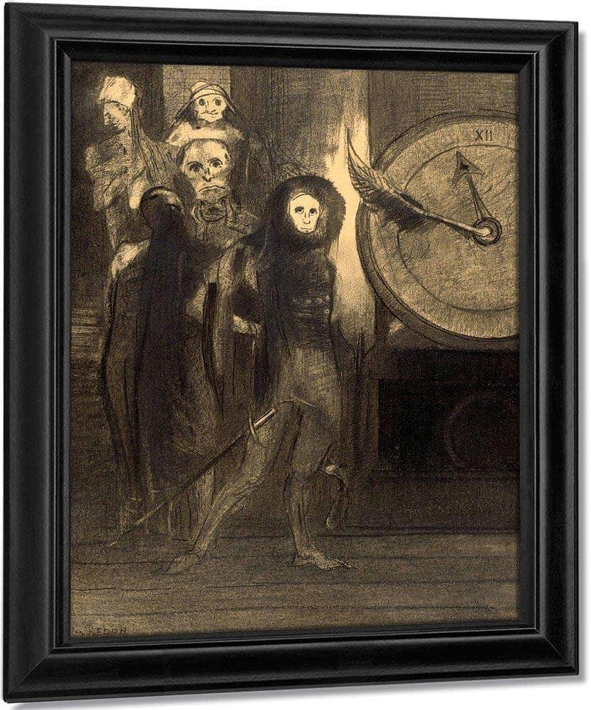 The Masque Of The Red Death By Odilon Redon