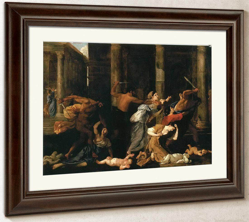 The Massacre Of The Innocents I By Nicholas Poussin