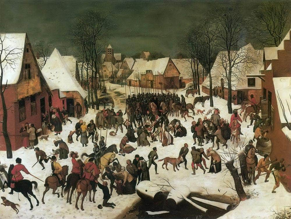 The Massacre Of The Innocents By Pieter Bruegel