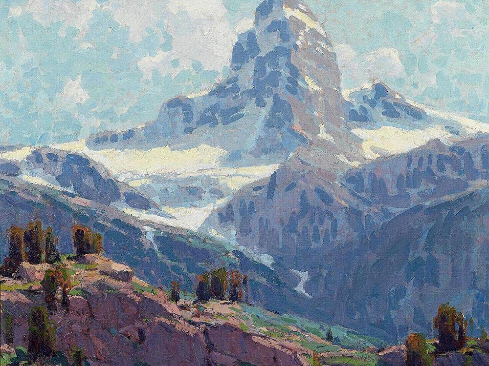 The Matterhorn By Edgar Payne2