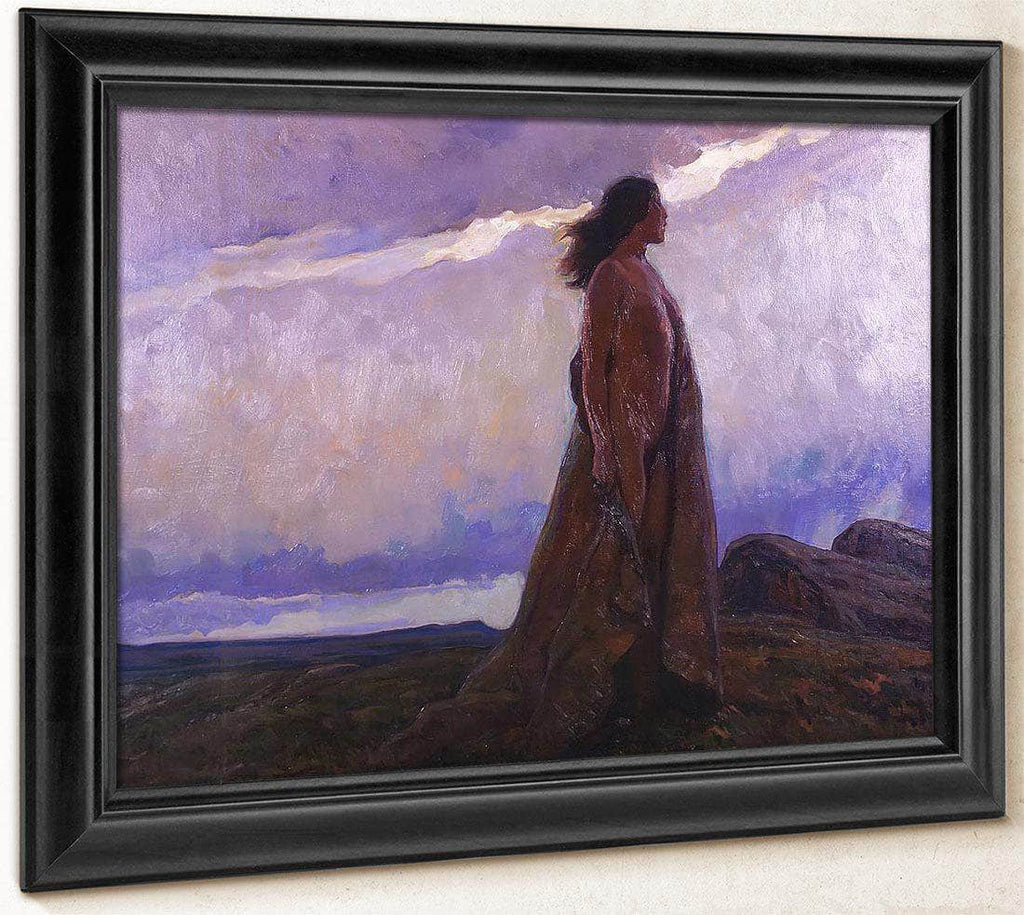 The Medicine Woman By Maynard Dixon