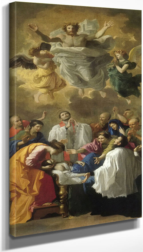 The Miracle Of St Francis Xavier By Nicholas Poussin