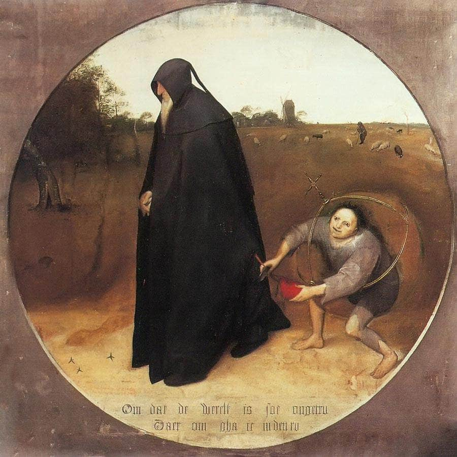 The Misanthrope 1568 By Pieter Bruegel