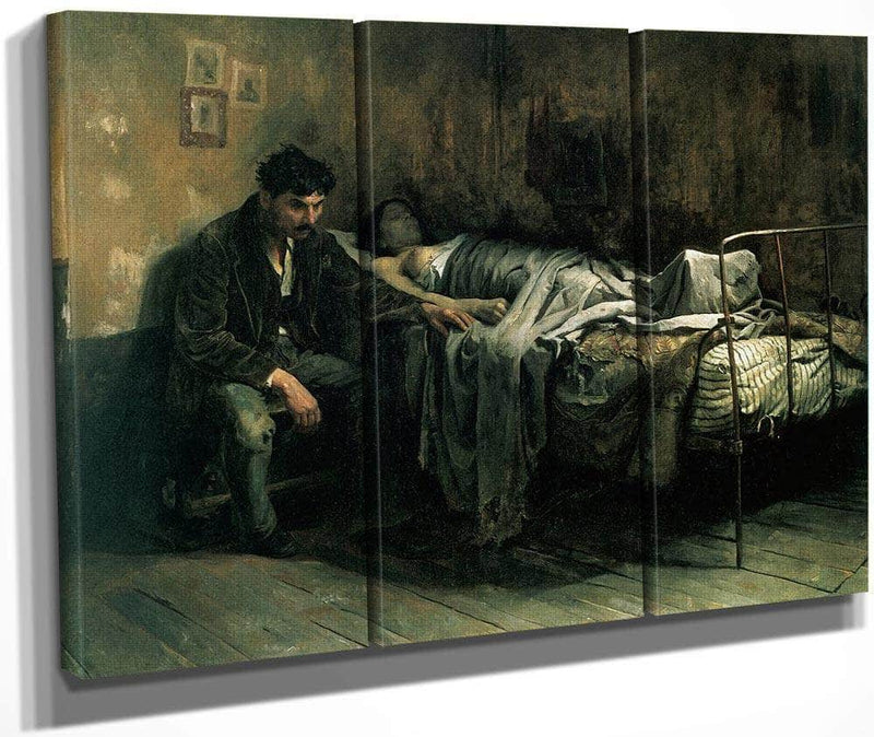 The Misery 1886 By Cristobal Rojas Poleo