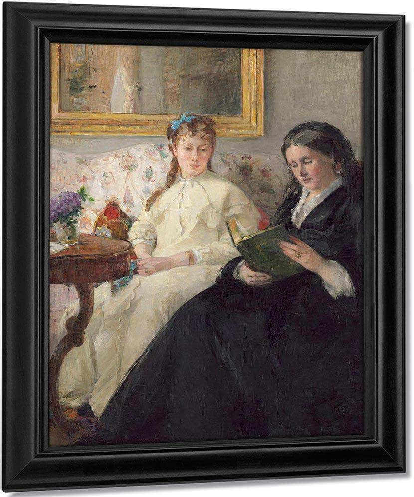 The Mother And Sister Of The Artist Berthe Morisot