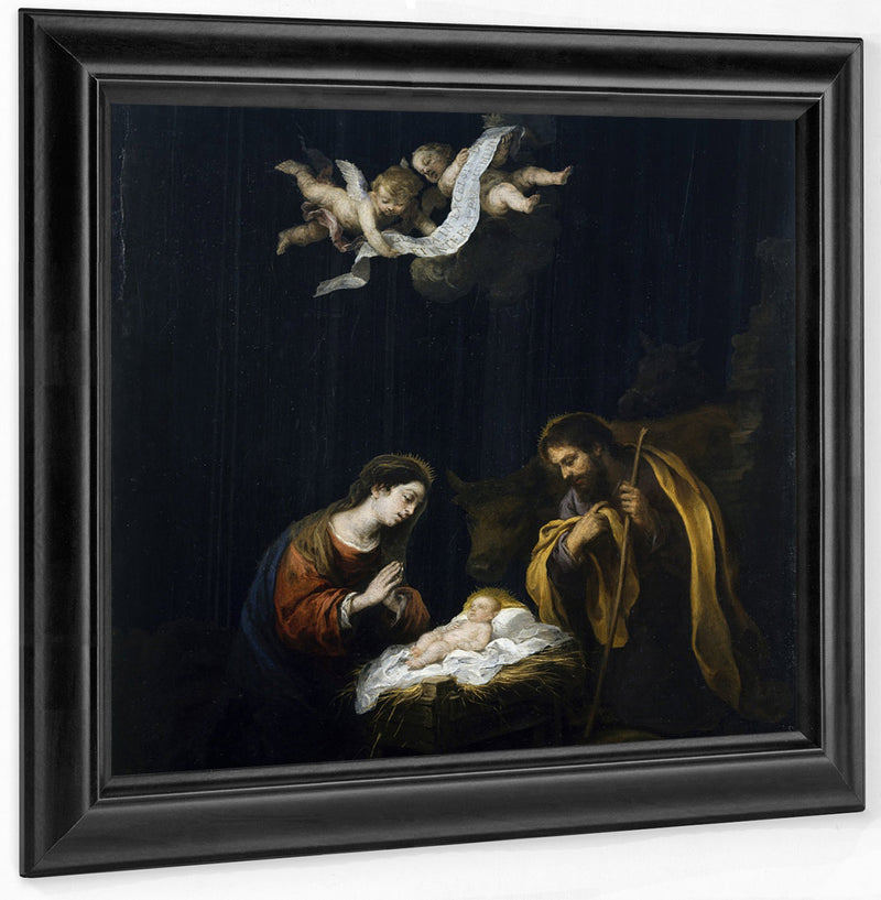 The Nativity By Bartolome Esteban Murillo