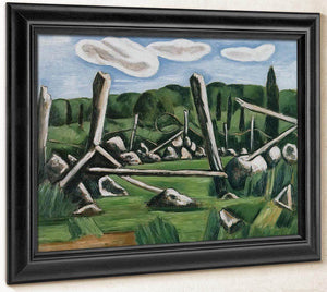 The Old Bars Dogtown By Marsden Hartley