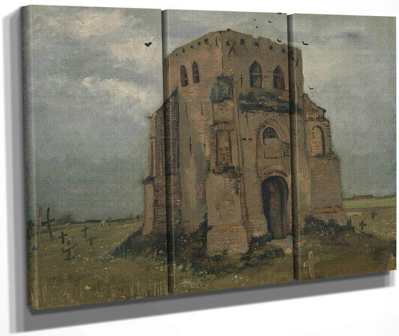 The Old Church Tower At Nuenen ('The Peasants' Churchyard') 2 By Vincent Van Gogh
