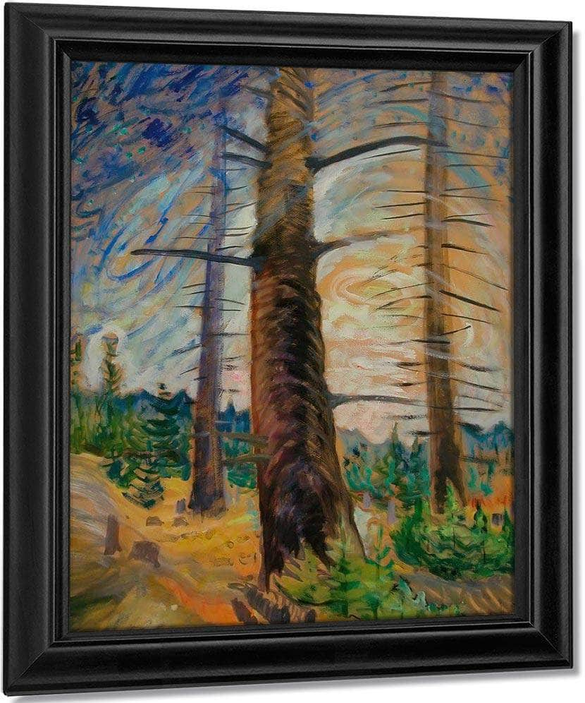The Old By Fir By Tree By Emily Carr