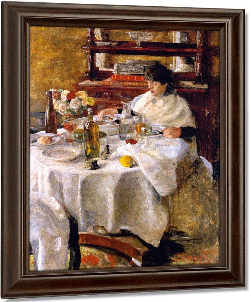 The Oyster Eater By James Ensor