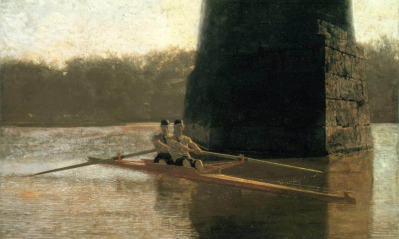 The Pair Oared Shell 1872 By Thomas Eakins