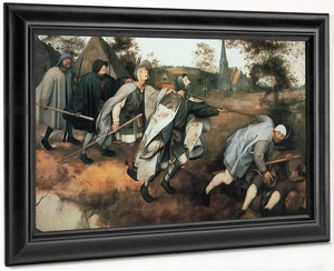 The Parable Of The Bline 1568 By Pieter Bruegel
