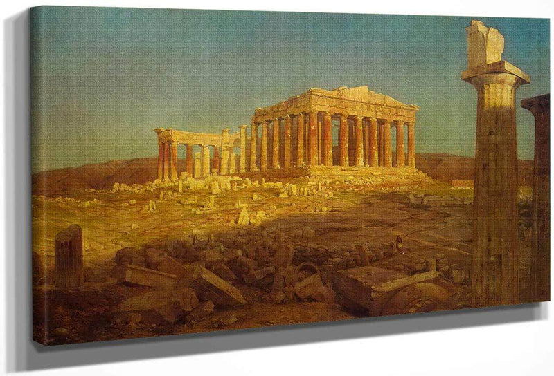 The Parthenon By Fredric Edwin Church