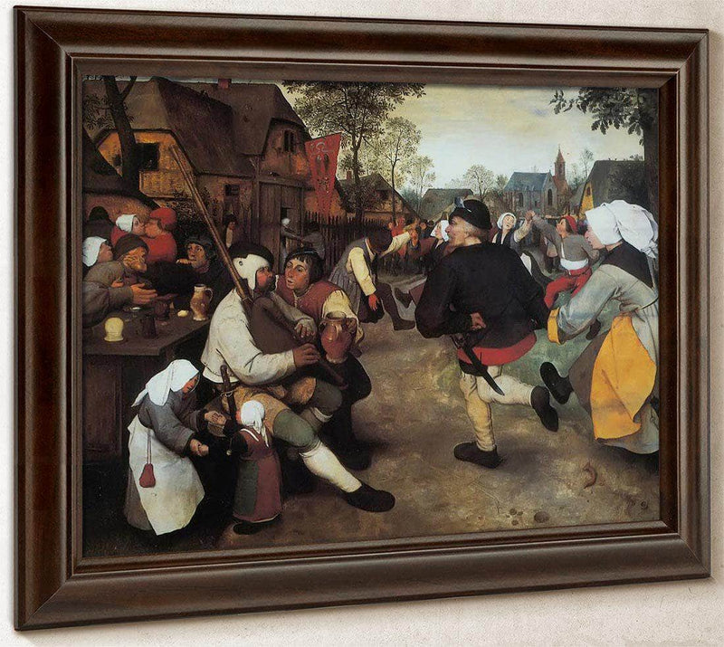 The Peasant Dance 1568 By Pieter Bruegel