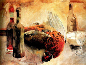 The Pheasant 1889 By Cristobal Rojas Poleo