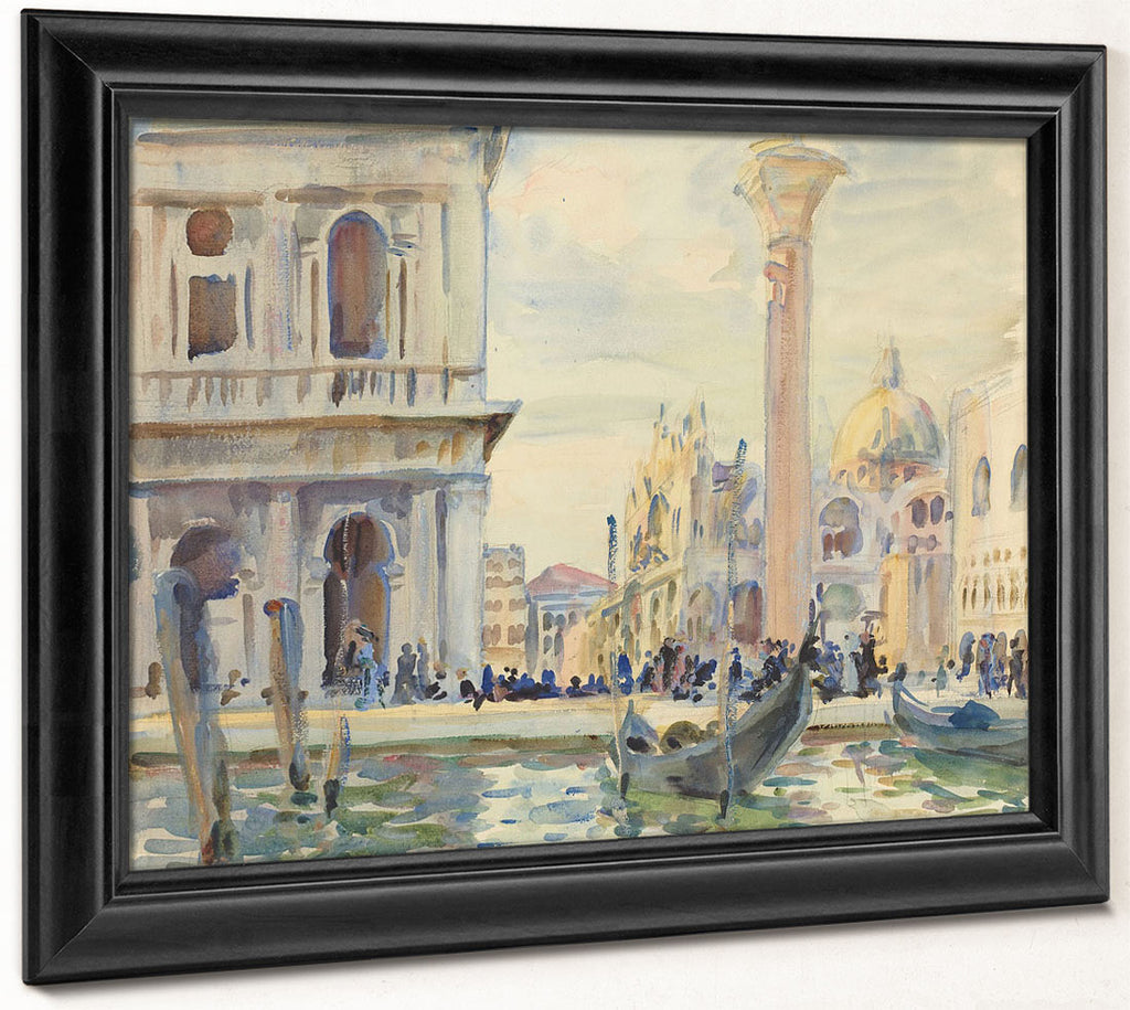 The Piazzetta By John Singer Sargent