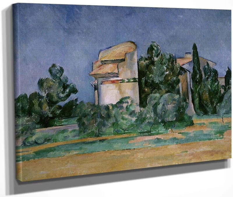 The Pigeon Tower At Bellevue By Cezanne Paul