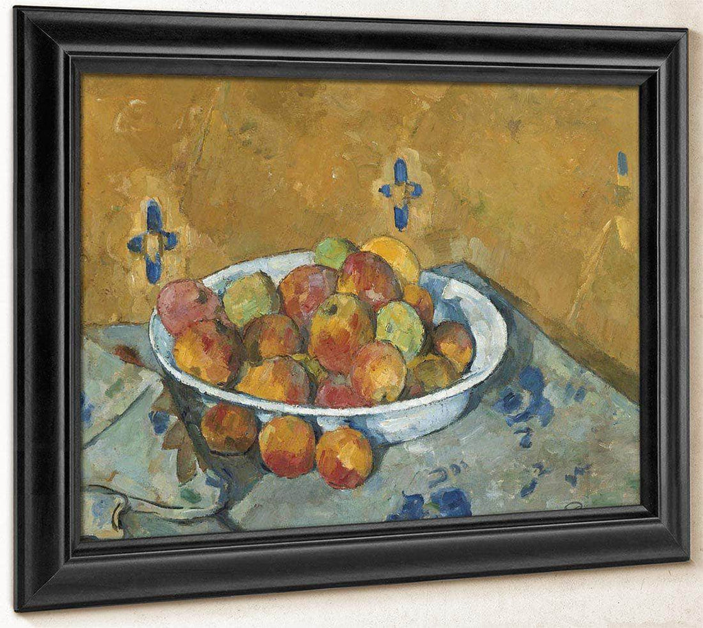 The Plate Of Apples By Cezanne Paul