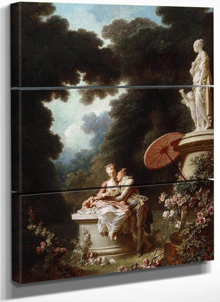 The Progress Of Love By Jean Honore Fragonard