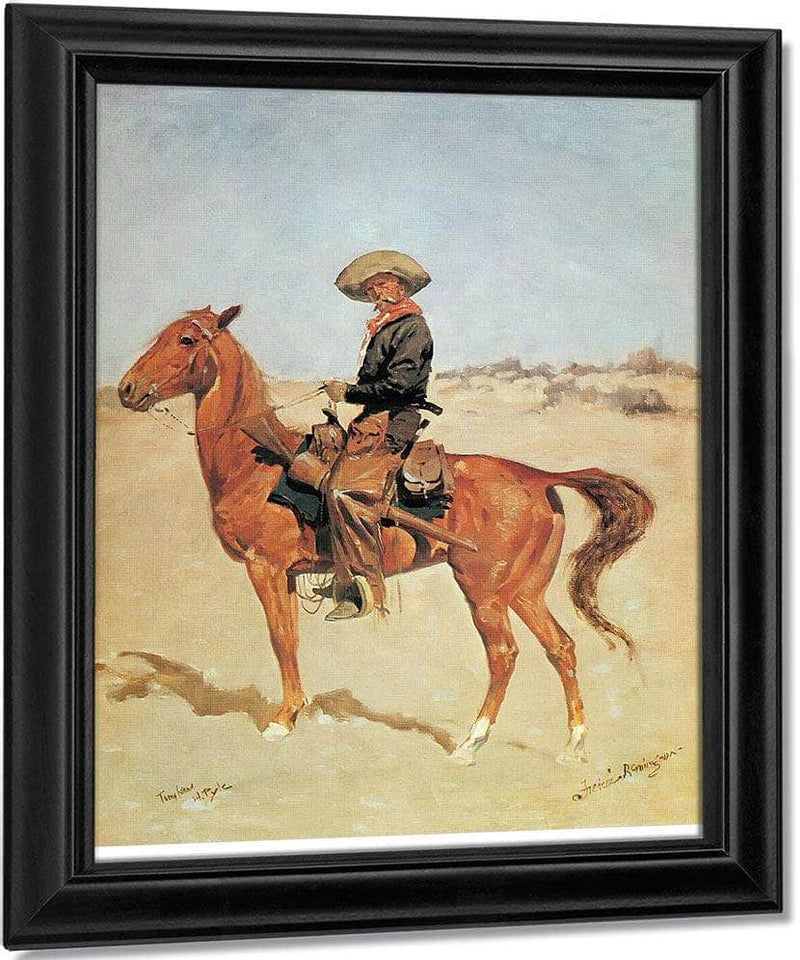The Puncher By Frederic Remington