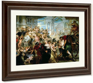 The Rape Of The Sabine Women By Peter Paul Rubens