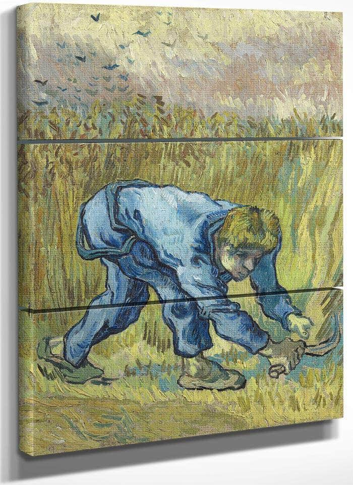The Reaper (After Millet) By Vincent Van Gogh